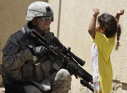 Rencontrer un militaire americain