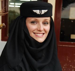 Le Voile Presque Integral Pour Les Hotesses D Air Algerie